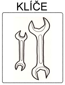 Nářadí - klíče
