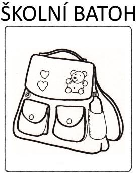 Škola - hračky - školní batoh